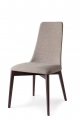 Moderné drevené čalúnené stoličky, dub, orech