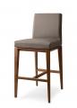 Moderné barové stoličky kuchynské kožené