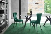 Luxusné štýlové jedálenské stoly a stoličky, zostavy