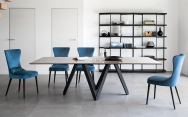 Jedálenské stoly luxusné, moderné, dizajnové - drevené, sklenené, rozťahovacie
