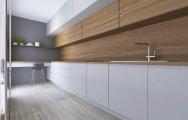 Moderná kuchyňa dub s bielou farbou I PRUNUS kuchyne interiéry