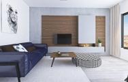 Dizajn a zariadenie modernej obývačky I PRUNUS štúdio
