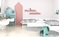 Návrh interiéru detskej izby