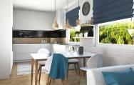 Škandinávsky interiérový dizajn  kuchyne