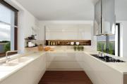 Luxusná lesklá kuchyňa
