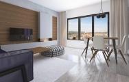 Dizajn minimalistickej obývačky