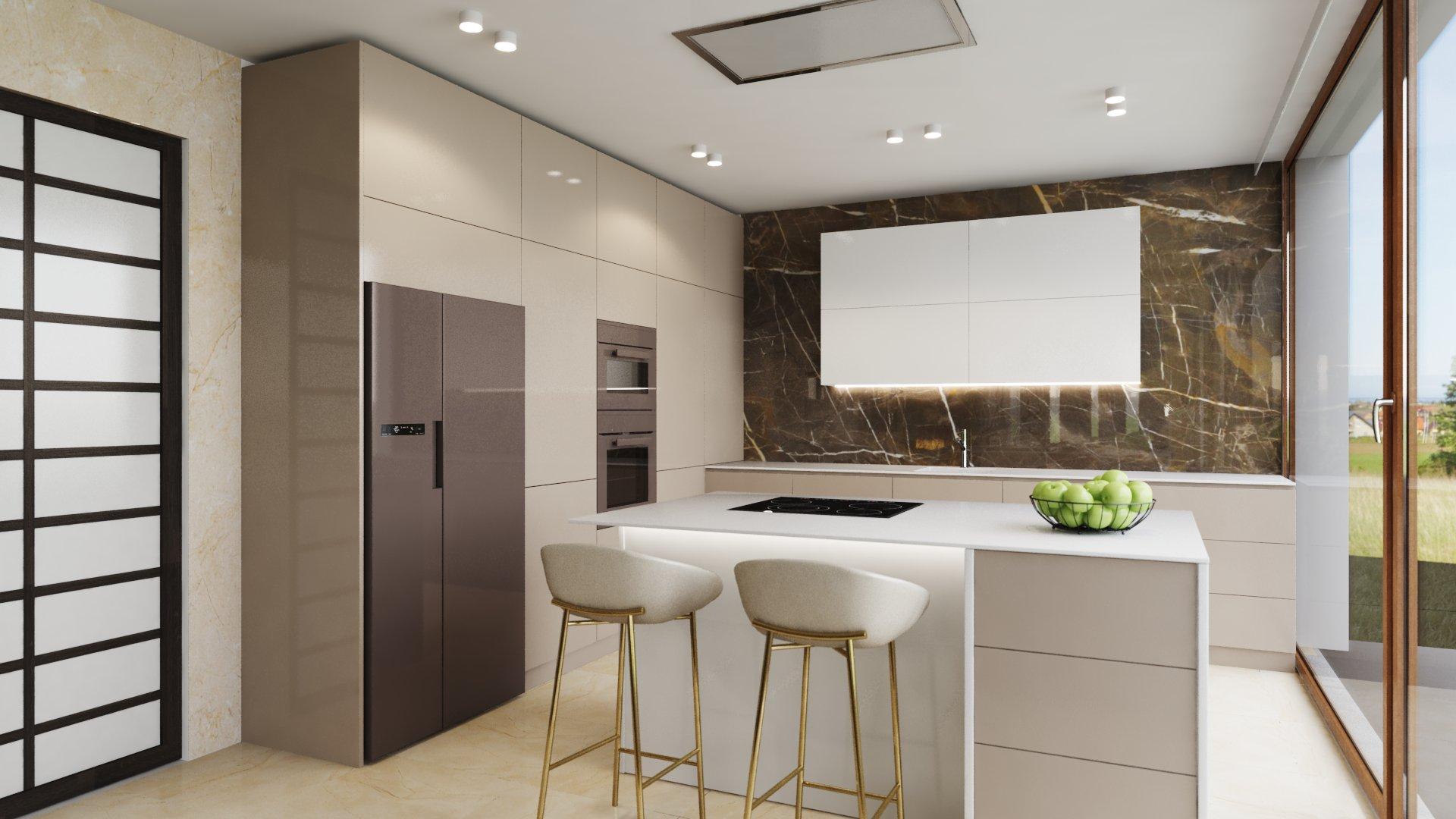 fa0bbd35e1e6f Profesionálne návrhy kuchyne, jedálne a obývačky - 3D vizualizácie I PRUNUS