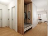 Moderný vstup, hala na mieru PRUNUS studio