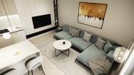 Moderné, dizajnové obývačky na mieru - PRUNUS