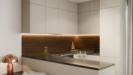 Interiérový dizajn domu s krbom I PRUNUS studio