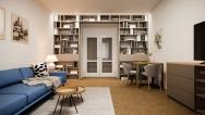 Útulný interiérový dizajn