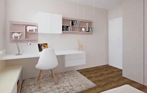 076cf0445f4c 3D návrhom vyriešime interiérový dizajn prepojenia kuchyne a obývačky.  Detské a študentské izby